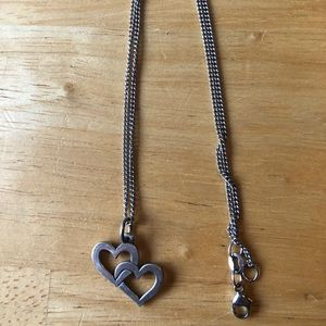 James Avery Cupid Hearts charm with 16 in. chain!